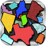 United States Flashcards - Map Geography
